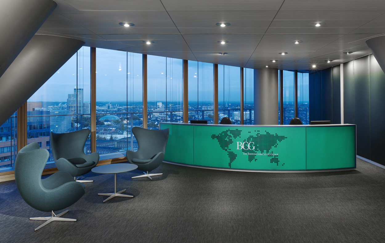 The boston consulting group i stadttor two product space for Design consultancy boston